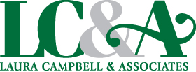 laura campbell home logo